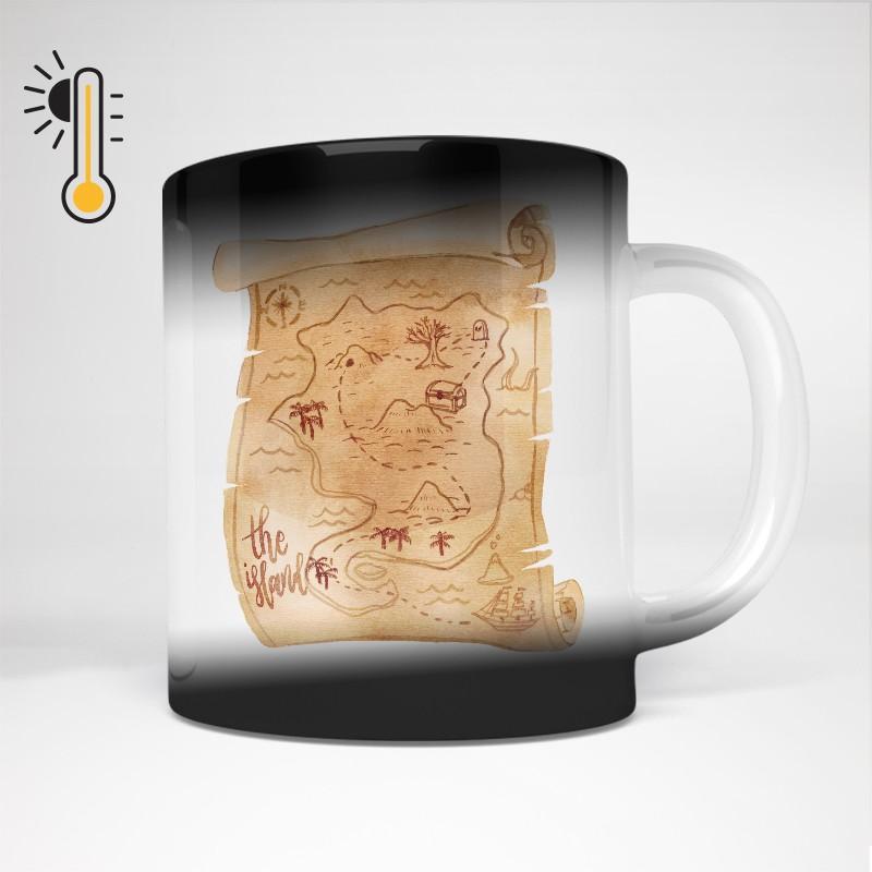 Mug thermo-réactif personnalisé
