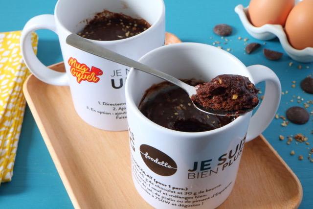 Mug Gyver Hack Foodette mug cake